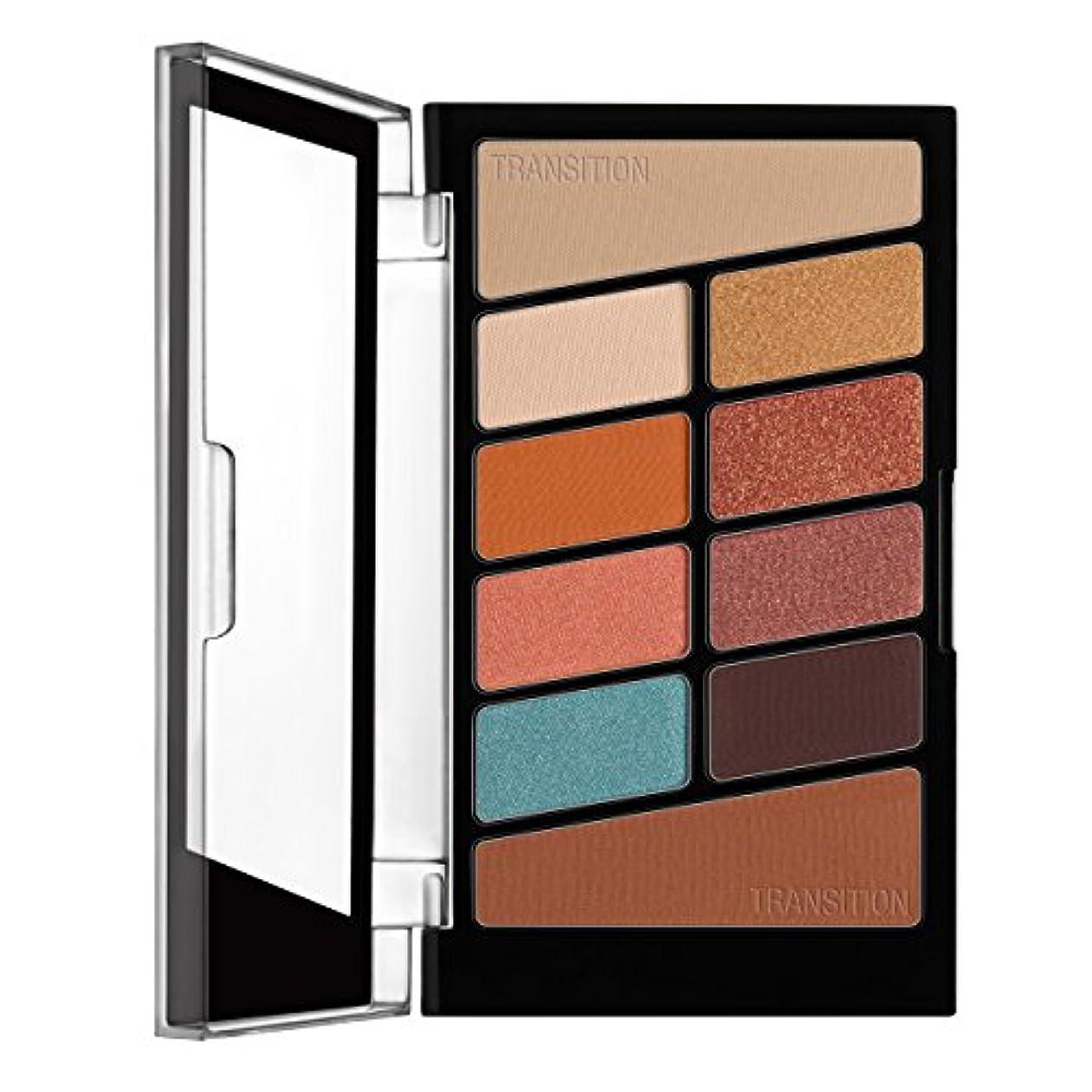 ぞっとするような影のある強大なWET N WILD Color Icon Eyeshadow 10 Pan Palette - Not A Basic Peach (並行輸入品)