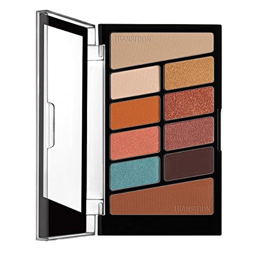嘆くワックス姉妹WET N WILD Color Icon Eyeshadow 10 Pan Palette - Not A Basic Peach (並行輸入品)