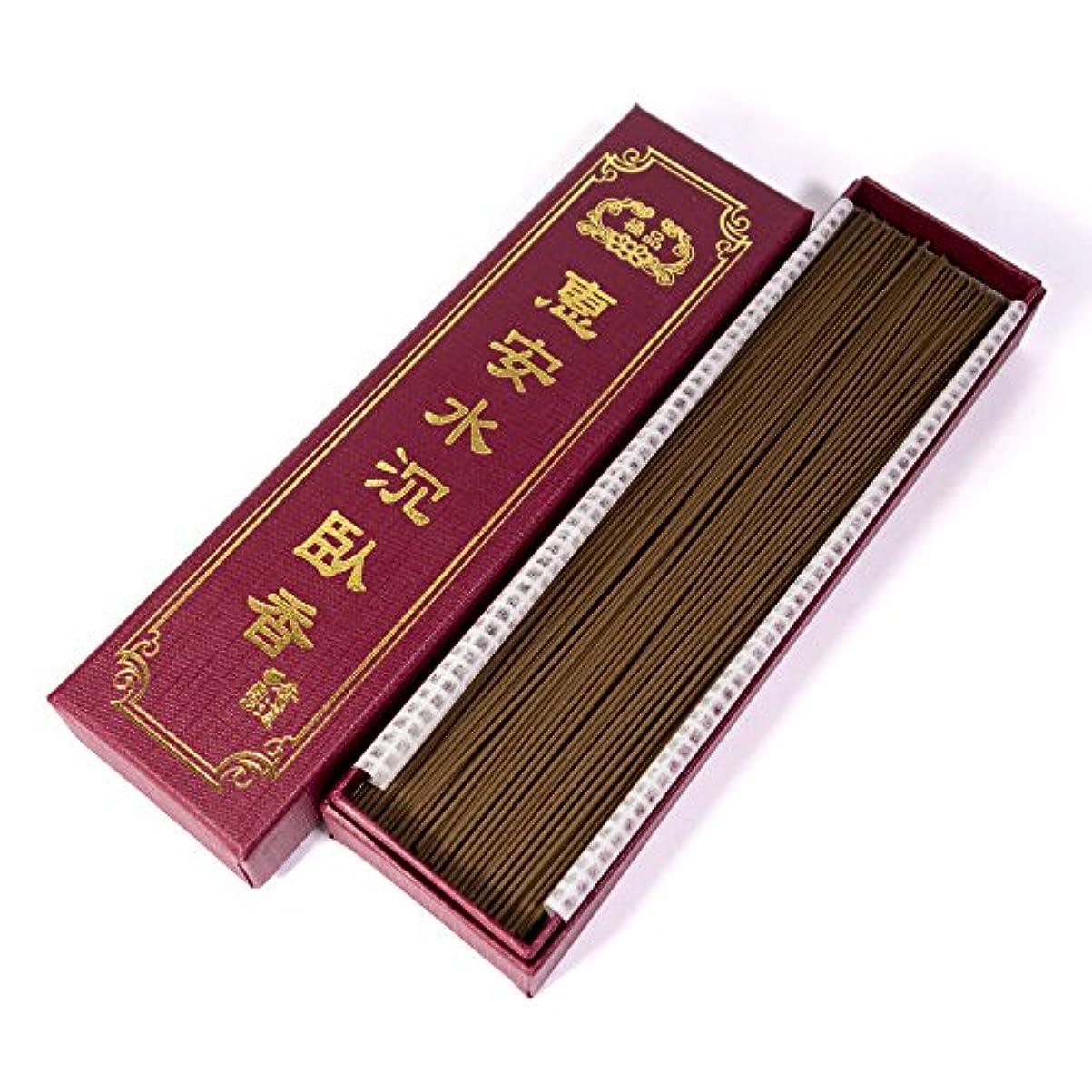 たるみ免除する古い台湾沉香舍 お香 香木 線香 水沈香 惠安水沈香 煙少香 21cm 75g 約220本