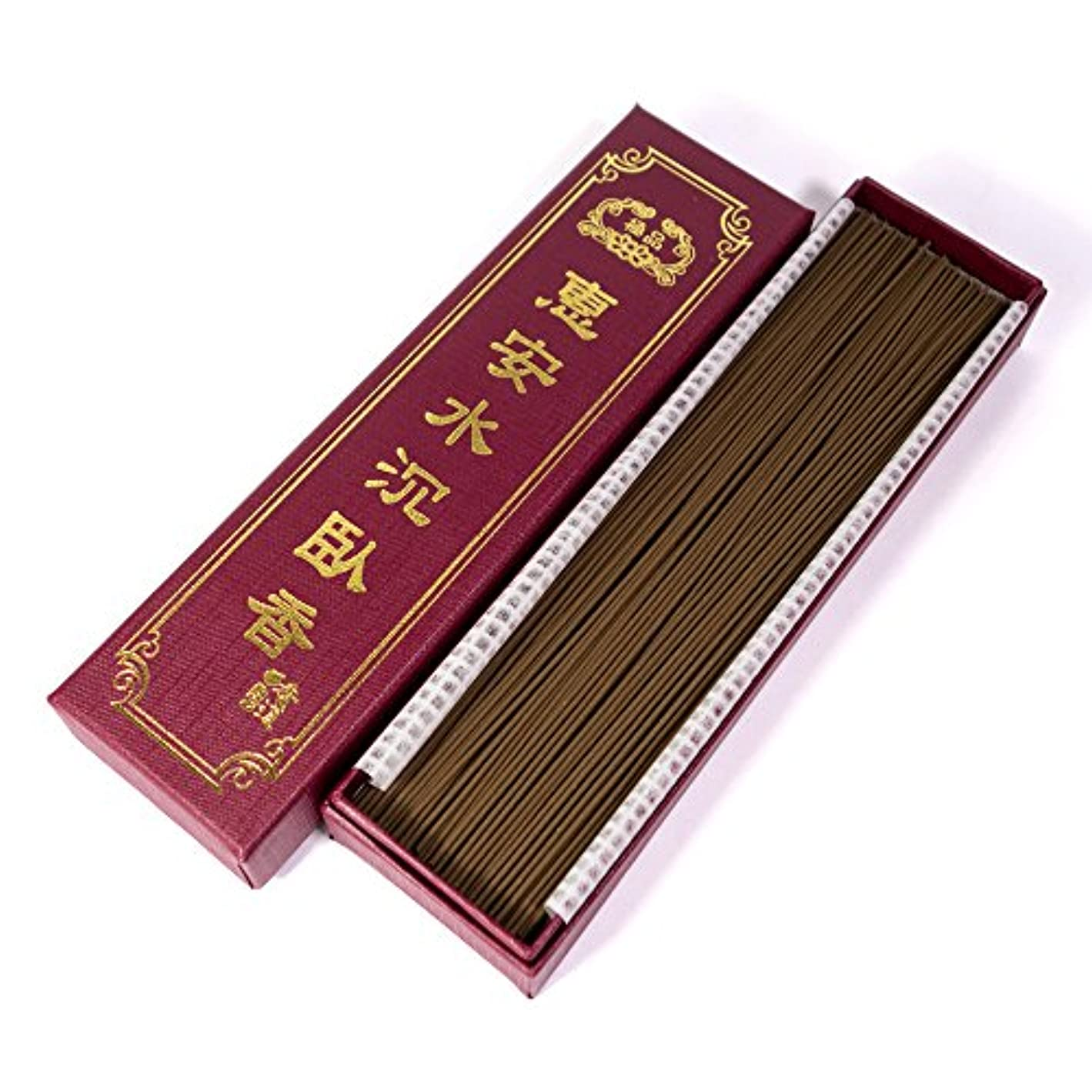 同意する抜本的なダイヤル台湾沉香舍 お香 香木 線香 水沈香 惠安水沈香 煙少香 21cm 75g 約220本