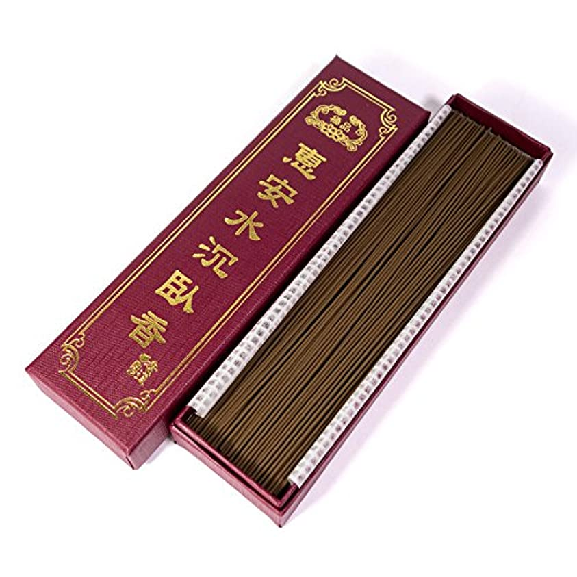栄養ええただやる台湾沉香舍 お香 香木 線香 水沈香 惠安水沈香 煙少香 21cm 75g 約220本