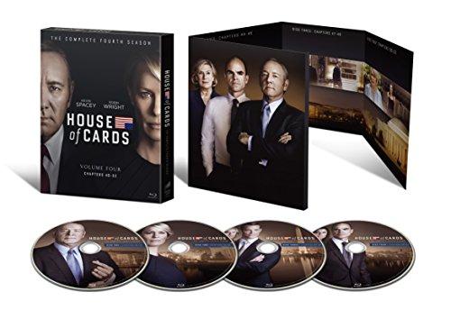 ハウス・オブ・カード 野望の階段 SEASON 4 Blu-ray Complete Package (デヴィッド・フィンチャー完全監修パッケージ仕様)
