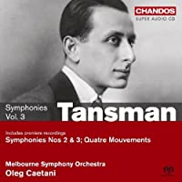 Alexandre Tansman: Symphonies Volume 3 - On the Symphonic Edge by VARIOUS ARTISTS (2008-09-30)