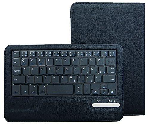 IVSO  レザーケース マグネット着脱可能 一体型Bluetoothワイヤレスキーボード