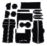 【右ハンドル専用】ホンダ 新型シビック/セダン/ハッチバック/TypeR専用インテリアラバーマット【白/蓄光/WHITE】ドアポケットマット コンソールマット(FC1/FK7/FK8)