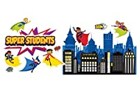 Super Power Super Kids Bulletin Board Set