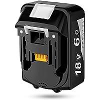【Amazon限定ブランド】 マキタ 18v バッテリー BL1860B マキタ 互換バッテリー 18v 6A.h LE…