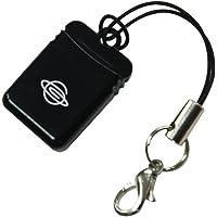 PLANEX パソコンに挿してもじゃまにならないUMPC対応microSDカードリーダ&ライター(USB2.0/1.1…