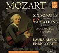 Six Sonatas by W. A. MOZART (2010-01-12)