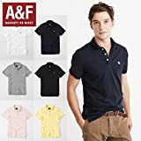 Abercrombie&Fitch アバクロ 半袖ストレッチポロシャツ STRETCH ICON POLO 6色 121-224-0809 [並行輸入品]
