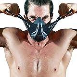 FDBRO sports masks 運動マスクはマスクを訓練して、乗ってマスクをして、ランニングのマスク、高い海抜の仮面を模擬して、フィットネスのマスク、無酸素運動のマスク (carbon fibre, M)