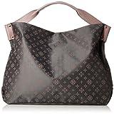 [ラシット] Leather Handle Tote Bag  RT18A1214570100 Gray/Pink Gray/Pink