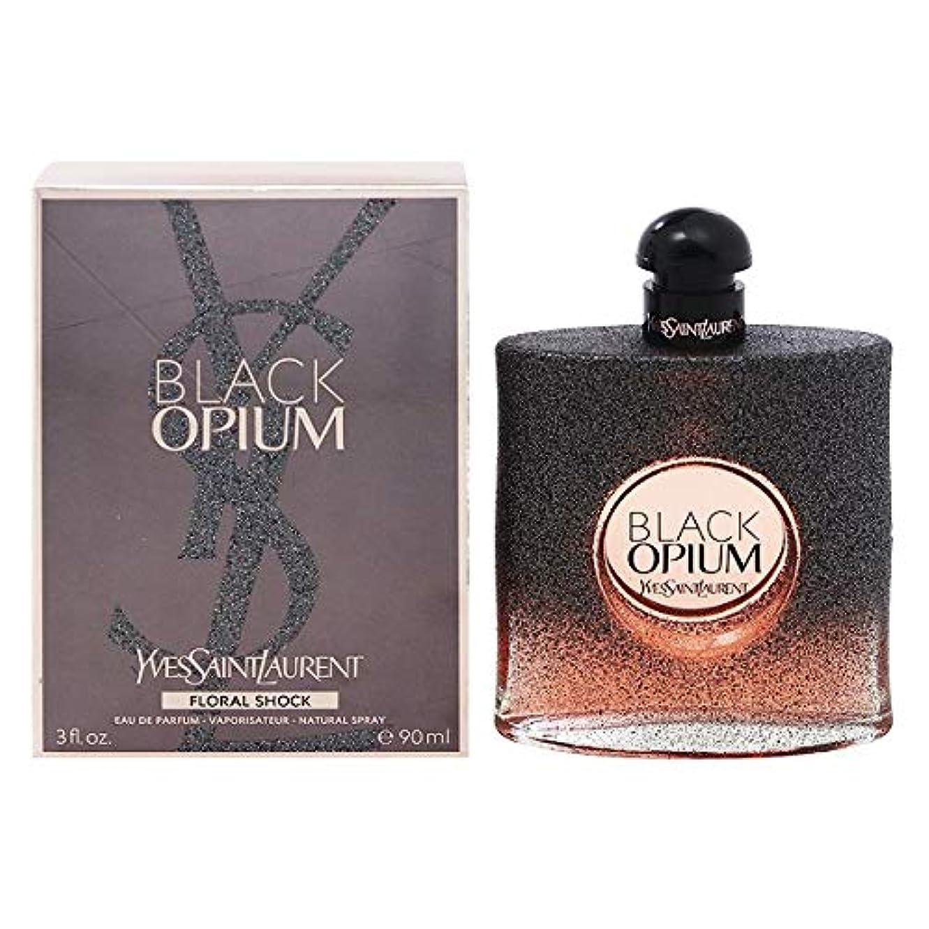 バラ色結婚式肥沃なブラック オピウム フローラル ショック オーデパルファム?スプレータイプ 90ml 【イヴサンローラン】 [並行輸入品]