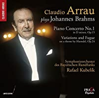 Claudio Arrau plays Johannes Brahms by Claudio Arrau