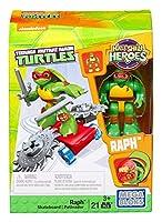 Mega Bloks Teenage Mutant Ninja Turtles Half-Shell Heroes Raph with Skateboard [並行輸入品]