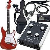 TASCAM タスカム オーディオインターフェイスセット US-122MKII エレキギターレコーディングセット