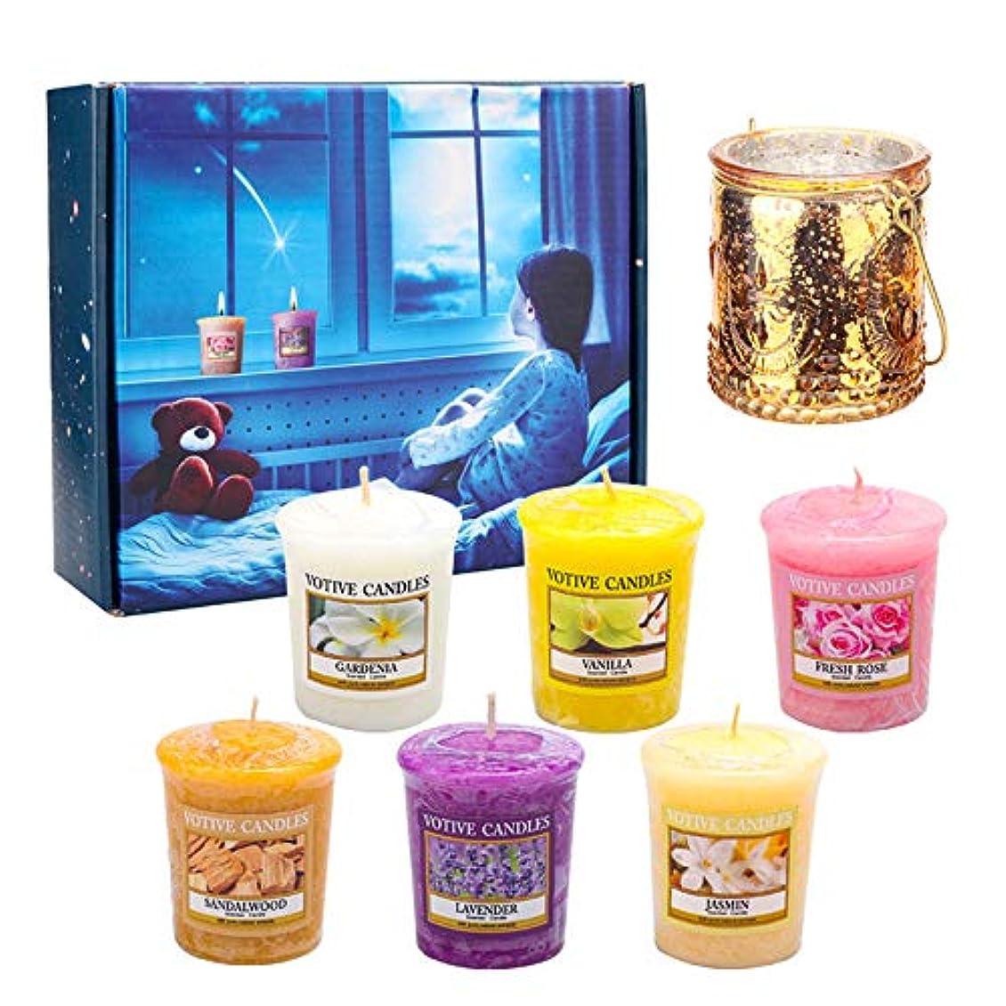 アロマセラピーキャンドル、香料入りキャンドル大豆ワックスロマンチックな香料入りキャンドルギフトセット妻、母の日、記念日