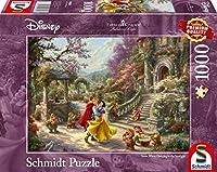 Schmidt Spiele 59625 ジグソーパズル トーマス・キンケード ディズニー スノーホワイト プリンセスのダンス 1000ピース パズル マルチカラー