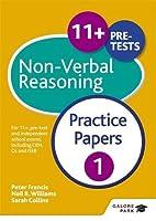 11+ Non-Verbal Reasoning Practice Papers 1