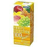 「エルビー フルーツセレクション フルーツセブン100% 200ml×24本」の画像