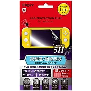 Nintendo Switch Lite 用 液晶保護フィルム 衝撃吸収 高硬度 5H Z2675