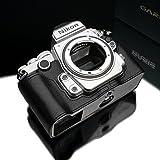 Gariz ゲリズ Genuine レザーカメラハーフケース Nikon DF用 (ブラック)【並行輸入】