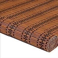 WUFENG 竹カーテン 陰影 防塵 入り口 背景 ローラーブラインド パーティション リビングルーム ベッドルーム 3サイズ 23色 (色 : C, サイズ さいず : 50x150cm)