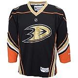 NHL Anaheim Ducksチームカラーレプリカジャージーユース ブラック