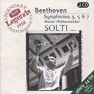 Beethoven: Symphonies 3,5 & 7
