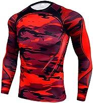 Men's Compression Wear, Compression Shirt, Long Sleeves, Sportswear, Sports Shirt, Training, Innerwear, Coolin