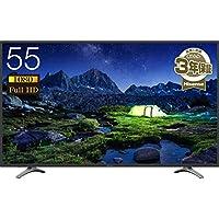 ハイセンス 55V型 液晶 テレビ 55K30 フルハイビジョン 外付けHDD裏番組録画対応 メーカー3年保証 2018年モデル