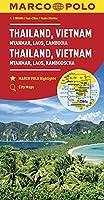 MARCO POLO Kontinentalkarte Thailand, Vietnam 1:2 500 000: Myanmar, Laos, Kambodscha