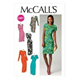 McCall Pattern Company M6886 Misses' Dresses Sewing Template, Size E5 (14-16-18-20-22) by McCall Pattern Company [並行輸入品]