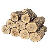 長時間よく燃える薪(マッキ—君)300kg 群馬県産材 年輪の詰った太いナラの木