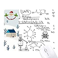 計算有機化学実験 サンタクロース家屋ゴムのマウスパッド