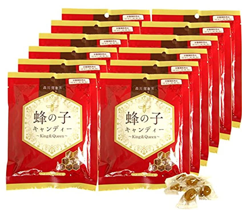 砂のシンプルな関数森川健康堂 蜂の子キャンディー 70g (70g×12個)
