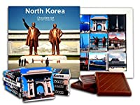 DA CHOCOLATE キャンディスーベニア 北朝鮮 チョコレートギフトセット 13x13cm 1箱 (記念碑)