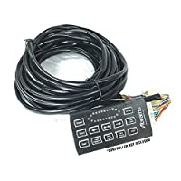 Abrams 15 FT Harness Extension Cable For ThunderEye 48 Inch Lightbar (Controller not Included) [並行輸入品]