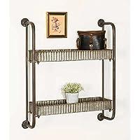 小さなCorrugated shelves-vintage Industrial Farmhouseシック