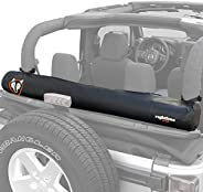 Rightline Gear 100J78-B Soft Top Window Storage Bag for Jeep Wrangler JK (2 & 4 Door) TJ, LJ, YJ