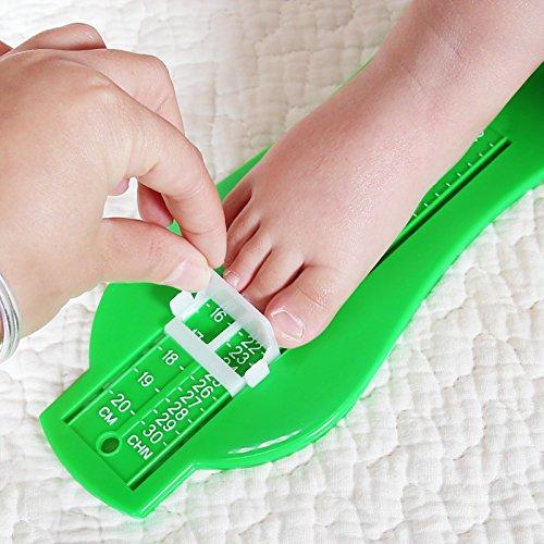 Homeland 足測定ツール フットメジャー 靴測定器 レッド
