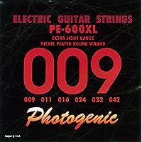 PhotoGenic フォトジェニック エレキギター弦 PE-600XL エクストラライト (009-042) PE-600XL