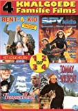 Family Films Collection - 4-DVD Box Set ( Rent-a-Kid / Treasure Island / Spy Kids / Tommy and the Wildcat (Poika ja ilves) ) [ NON-USA FORMAT, PAL, Reg.2 Import - Netherlands ]