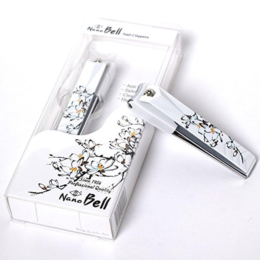 つま先したい逃れるNano BELL Nail Clippers BN-104 ポータブルナノシルバー爪ケアトラベル爪切り感覚的なイラストPortable Nail Clippers Nail Care