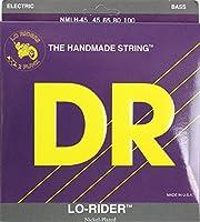 DR NICKEL LO-RIDERS DR-NMLH45 Medium-Lite エレキベース弦×2セット