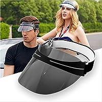 サンバイザー UVカット レインハット レディース 3層スポンジ保護 めっき レインバイザー 自転車 キャップ 収納に便利 くるりとまるめて持ち運び しっかり 紫外線対策 日焼け対策 つば広 ワイド 帽子 4色