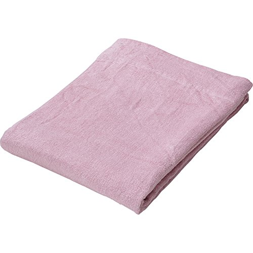 アイリスプラザ タオルケット ピンク 幅140×奥行190cm 接触涼感 吸湿性 レーヨン素材 洗える 心地よいサラふわ触感