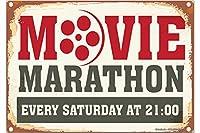 冷蔵庫用マグネット Fridge Magnet Fun rative Movie marathon