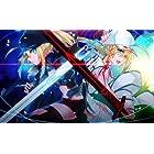 あずまちっく天国 Fate/Grand Order 同人 TCGプレイマット ☆『謎のヒロインX vsヒロインZ/Illust:SL』★ 【Character1 2016/COMIC1☆10】
