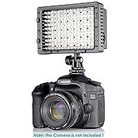 LEDビデオライト 調光可能なパネル一眼レフカメラLED写真撮影ライト キヤノン ニコン ペンタックス パナソニック ソニー サムスン オリンパスカメラ 用カメラビデオライト by Ashnna (192 LED)
